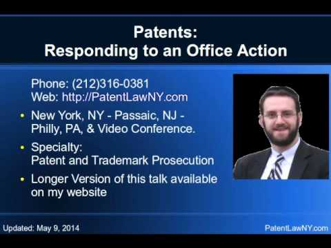 Working with the Patent Office -NAPP Presentation 2014