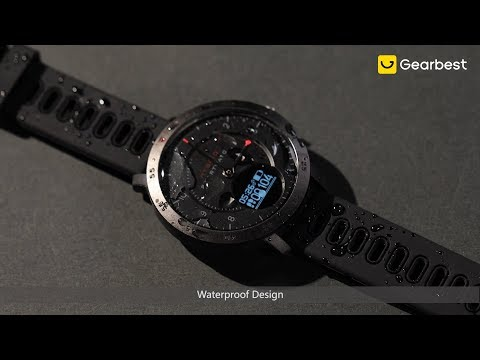 Zeblaze HYBRID Dual Modes Mechanical Smart Watch - Gearbest.com