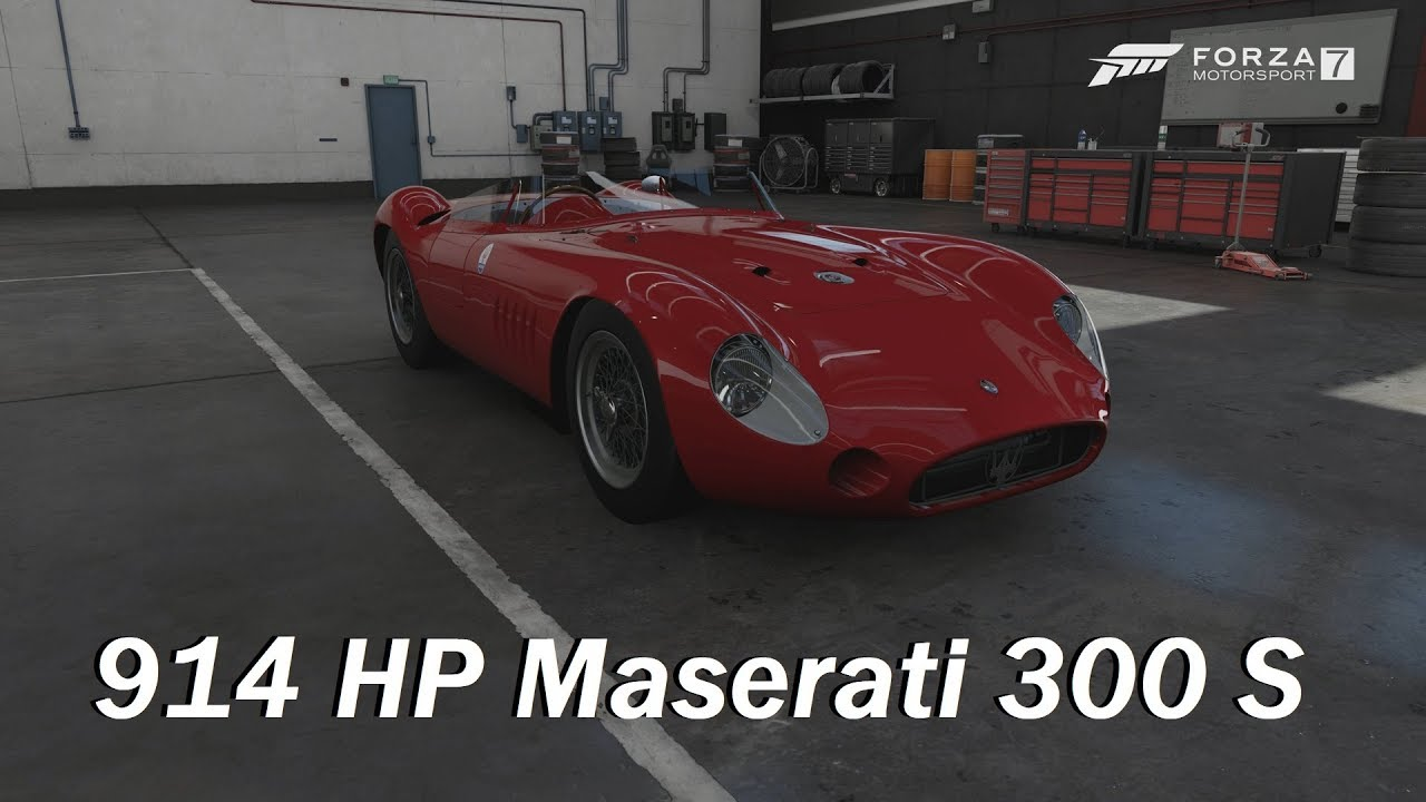 How Fast Will It Go 1957 Maserati 300 S Forza Motorsport 7