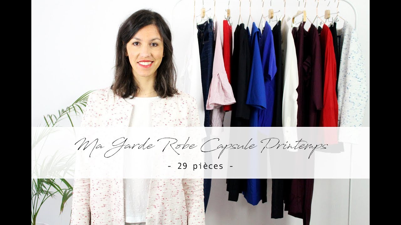 Ma Garde Robe Capsule Printemps Minimaliste Et Ethique Youtube