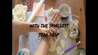 How to make a big, bad gum paste flower