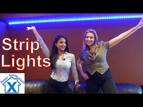 How to Install RGB Music LED Strip Lights by Minger