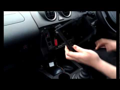 Radio installation ford fiesta triple dash