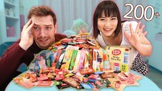 I Try EVERY Japanese Kit Kat Ft. Shibuya Kaho