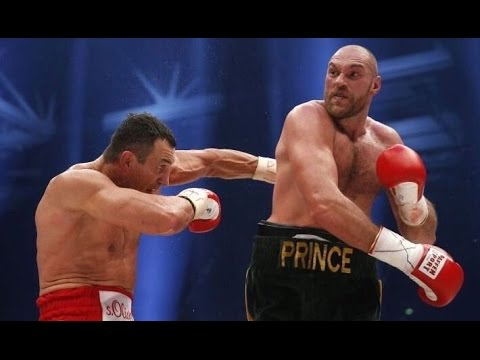 TYSON FURY DEFEATS WLADIMIR KLITSCHKO; FULL FIGHT POST-FIGHT WITH FURY SINGING TO WIFE IN RING