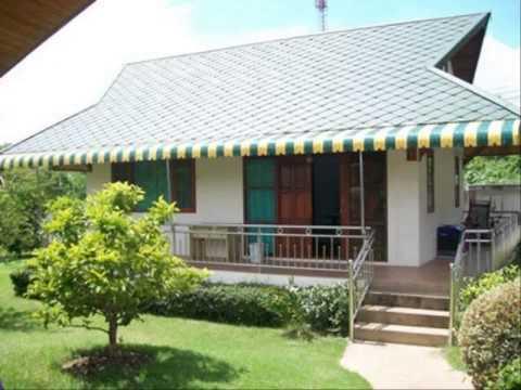 บ้านชั้นเดียวสวยๆๆ รูปแบบการต่อเติมหน้าบ้าน