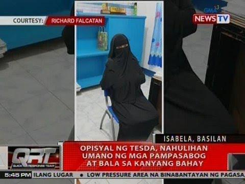 QRT: Opisyal ng TESDA, nahulihan umano ng mga pampasabog at bala sa kanyang bahay