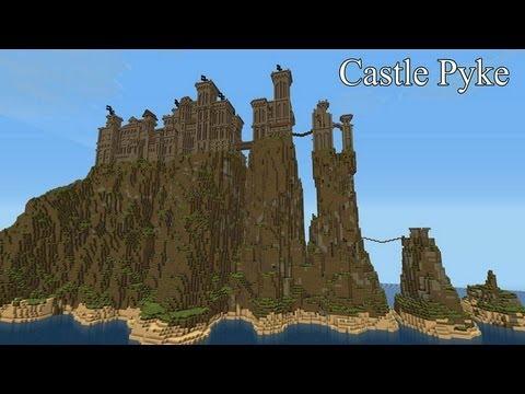 Minecraft Game Of Thrones Pyke Castle Youtube