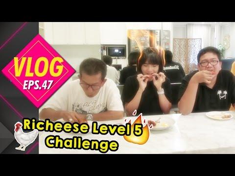 WTF#47 RICHEESE LEVEL 5 CHALLENGE | NANGIS DEPAN MERTUA..