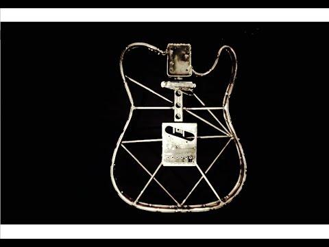 DIY: Steel Telecaster Electric Guitar Build (Part 1)