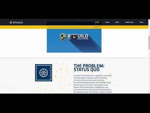 [eng] ICO BITGuild. Blockchain Gaming Platform