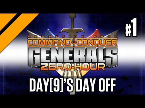 Day[9]'s Day Off - Command \u0026 Conquer: Generals Zero Hour P1