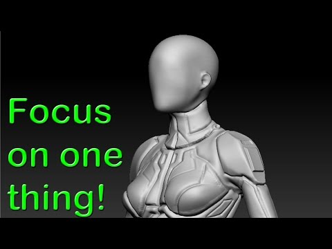 Focus on one thing! - Building a character artist portfolio