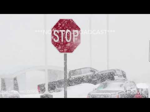 12-06-2017 Rapid City, South Dakota Intense Snowfall