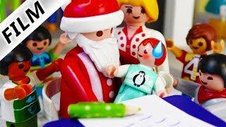 Playmobil Film deutsch EMMA TRIFFT WEIHNACHTSMANN Was wünscht sie sich zu Weihnachten? Familie Vogel