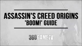 Assassins Creed Origins BOOM! Achievement / Trophy Guide (Kill enemies - fire arrow - oil jar)