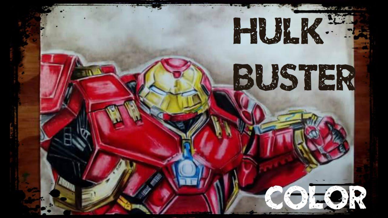 Como Colorear A Hulkbuster Coloring In Hulkbuster