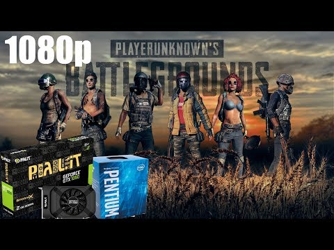 PUBG (Patch 1.0) On G4560 & Gtx 1050ti @1080p - Ultra to Very Low Settings
