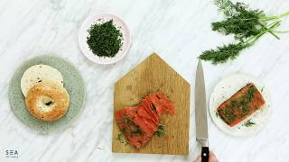 Sea to Table Cured Salmon Recipe