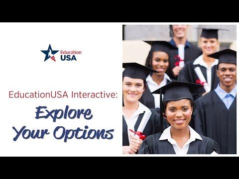 EducationUSA Interactive: Explore Your Options