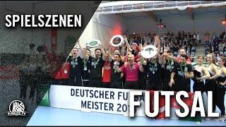 Hamburg Panthers - FC Liria (Finale, Deutsche Futsal-Meisterschaft 2016) - Spielszenen | ELBKICK.TV