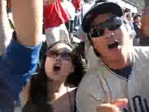 WBZ 7th Inning Stretch @ the Padres NLDS Game#1