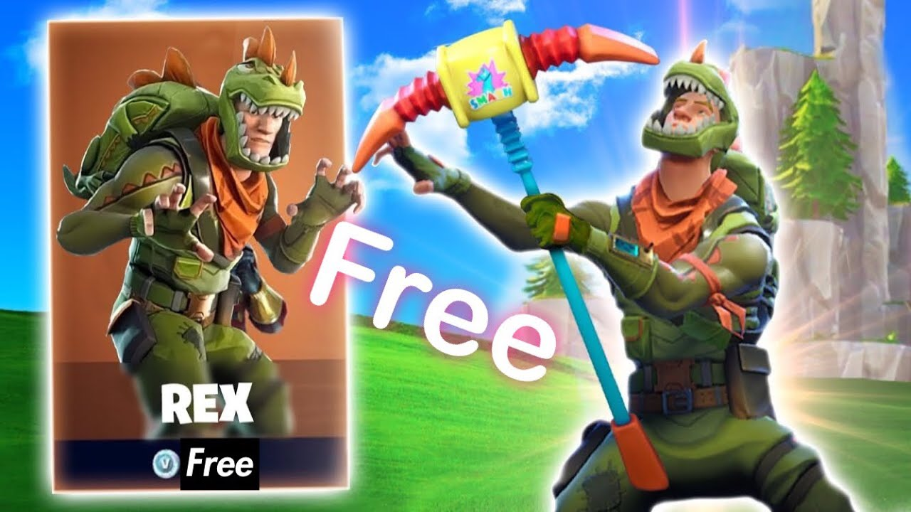 How to get the new rex skin for free fortnite youtube - Rex from fortnite ...