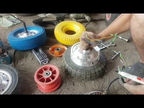 Гироскутеровские колеса (другая резина)