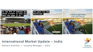 Tourism Australia market update - India