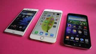 slowmotion iphone 6 plus vs xperia z3 vs galaxy s5
