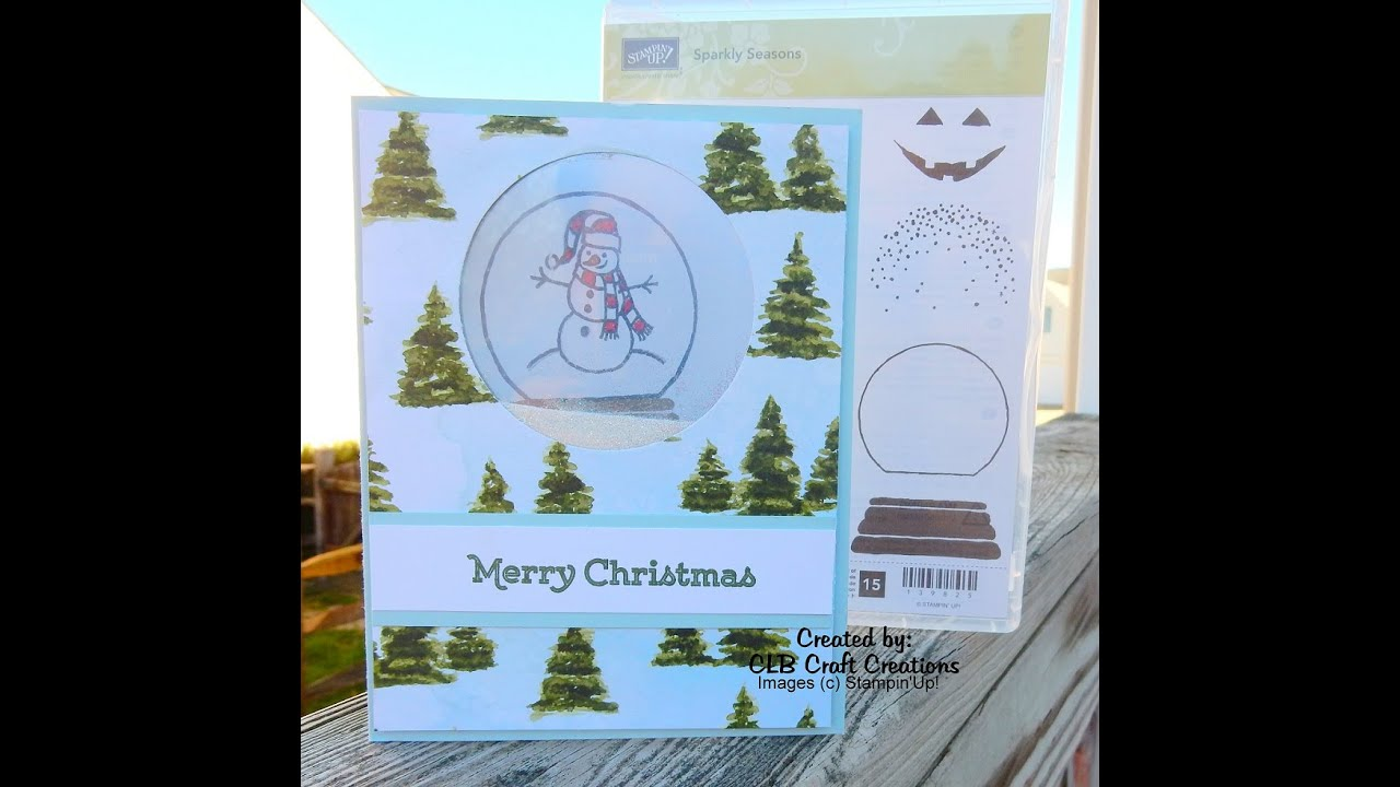 2015 stampin u0027up holiday card series day 2 sparkly season shaker
