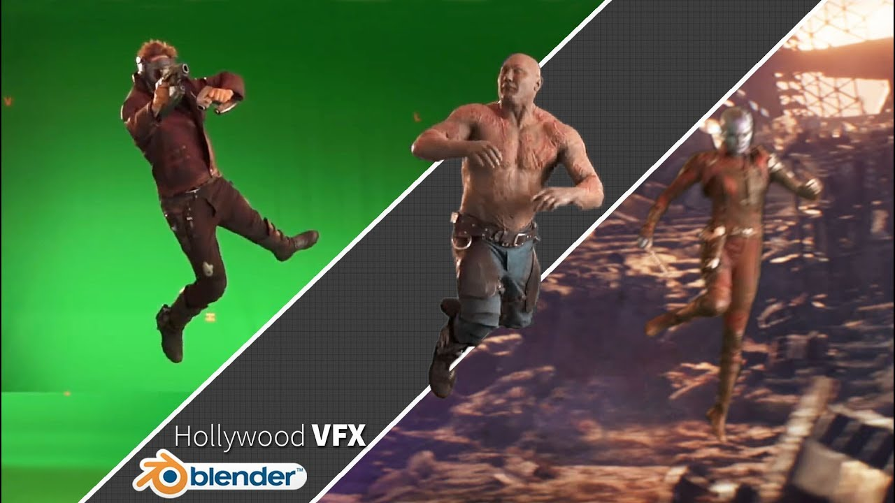 How to Create Hollywood VFX in Blender!