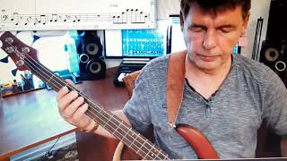 Mindfields (Toto) - Bass Cover by Christian Günther
