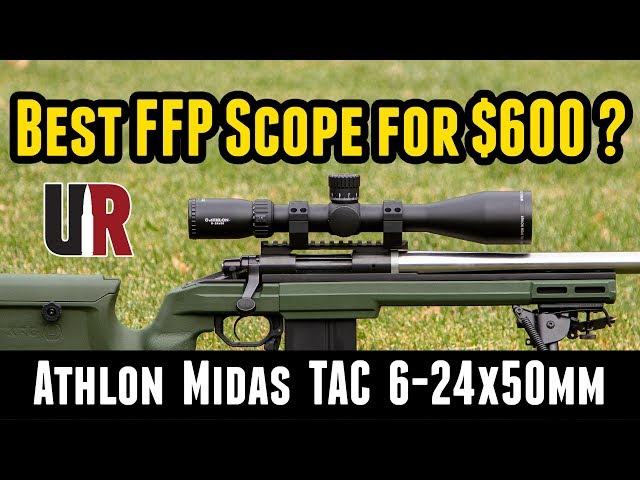 Athlon Midas TAC 6-24x50mm FFP Scope Complete Overview