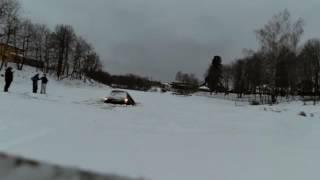 видео Утопили Toyota Land Cruiser.. Или что делать, если ты дебил!