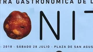 Presentación de la VII Muestra Gastronómica de la Papa Bonita - Los Realejos