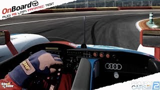 Project CARS 2 Test Fanatec Club Sport Formula with Audi R8 LMP1 at Spa