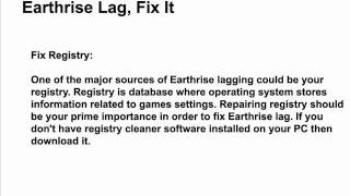 Earthrise Lags - Why Does the Game Earthrise Lag, Fix It