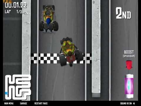 Teenage Mutant Ninja Turtles Buggy Burnout (Черепашки ниндзя гонки)