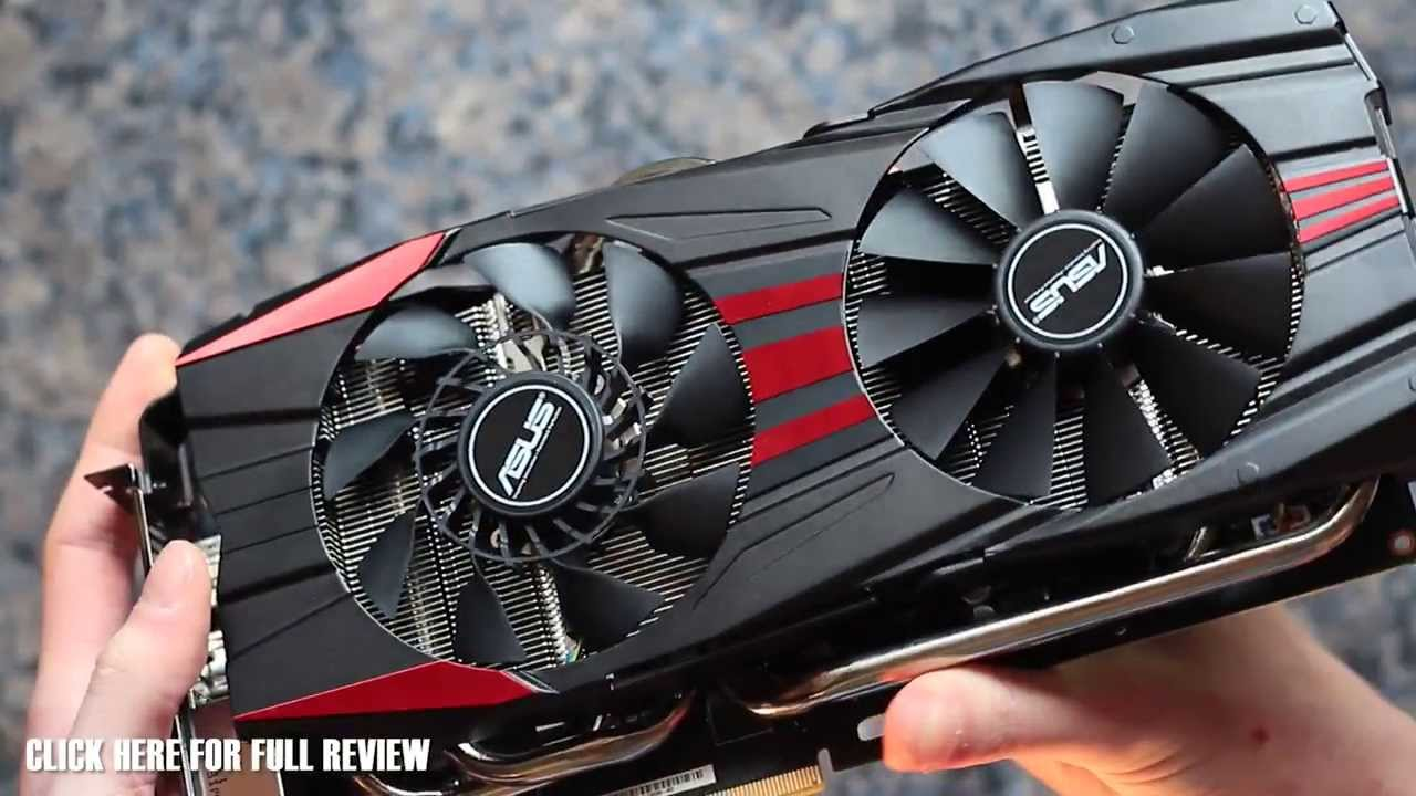 Asus R9 280X DirectCUII Overview