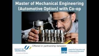 Master of Engineering - Mechanical Engineering (Automotive Option)  2013-03-20 8.02 AM