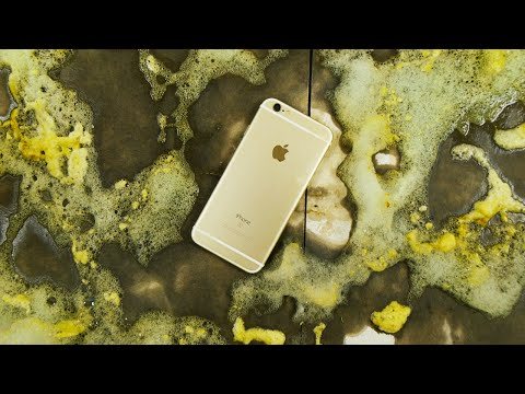 iPhone 6S Dropped In a Giant Foam Dinosaur Egg!