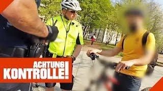 Hehlerware! Polizei ermittelt gestohlenes Fahrrad! | Achtung Kontrolle | Kabel Eins