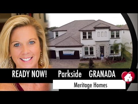 New Homes Dr Phillips Winter Garden Granada Inventory At Parkside By Meritage Luxury Hom
