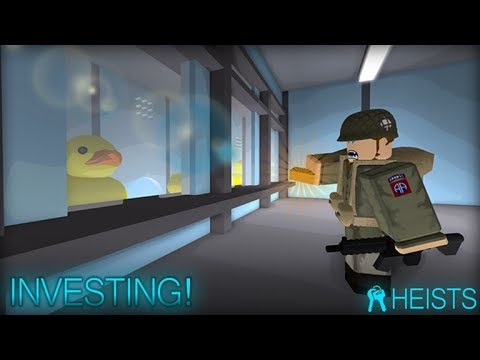 Roblox Heist: How to Invest in Duck Corp and Money Launder