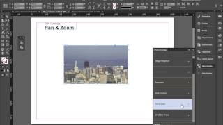 Indesign - Folio Overlays - Web Content, Pan & Zoom, Scrollable Frame
