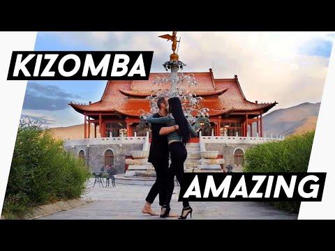 Kizomba Fusion in Ulaan Baatar - Mongolia - Kristofer & Bujin