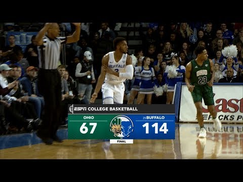 UB Men's Basketball vs Ohio Post Game Recap