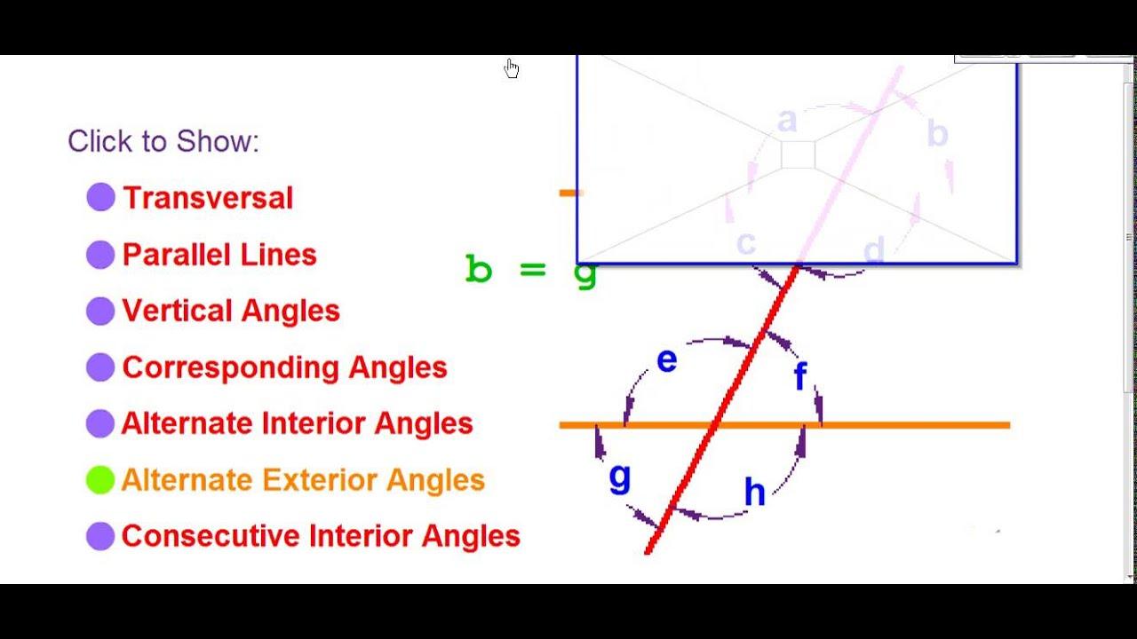 Angle relationship vocabulary youtube angle relationship vocabulary ccuart Choice Image