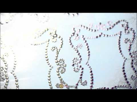 Аппликации из страз от Prima Flowers, серия Say it in Crystals - Frame